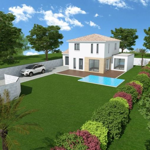 Villa 4 pièces contemporaine