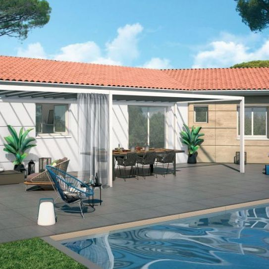 Villa neuve contemporaine 4 pièces