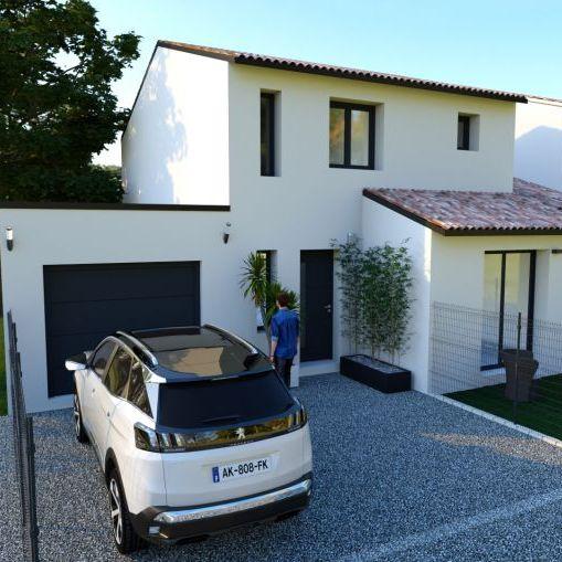 Villa neuve 100m2 contemporaine