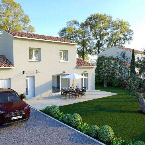 villa 3 chambres et suite parentale et garage+ 805m² terrain la Barben