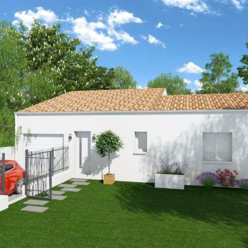 Olonzac, maison de plain pied 90 m2 sur un terrain de 372 m2