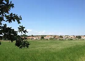 Terrain viabilisé à Lieuran les Béziers 34290