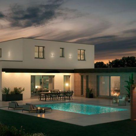 Villa d'exception sur terrain de 680m2 exposé plein SUD climatisation gainable pour confort d'été