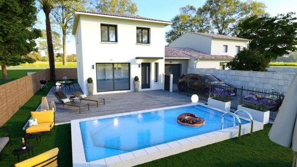 Villa moderne 3 pièces