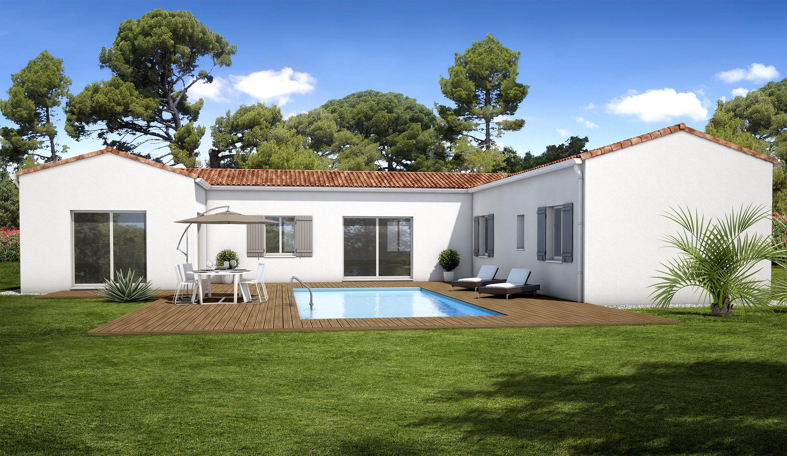 Ancien Modele Maison Traditionnelle Pertuis Maisons Bati France Constructeur Maison Neuve Languedoc Roussillon