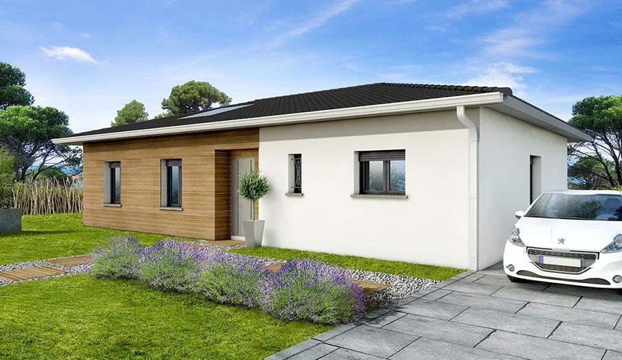 maison modèle contemporain modèle magnolia