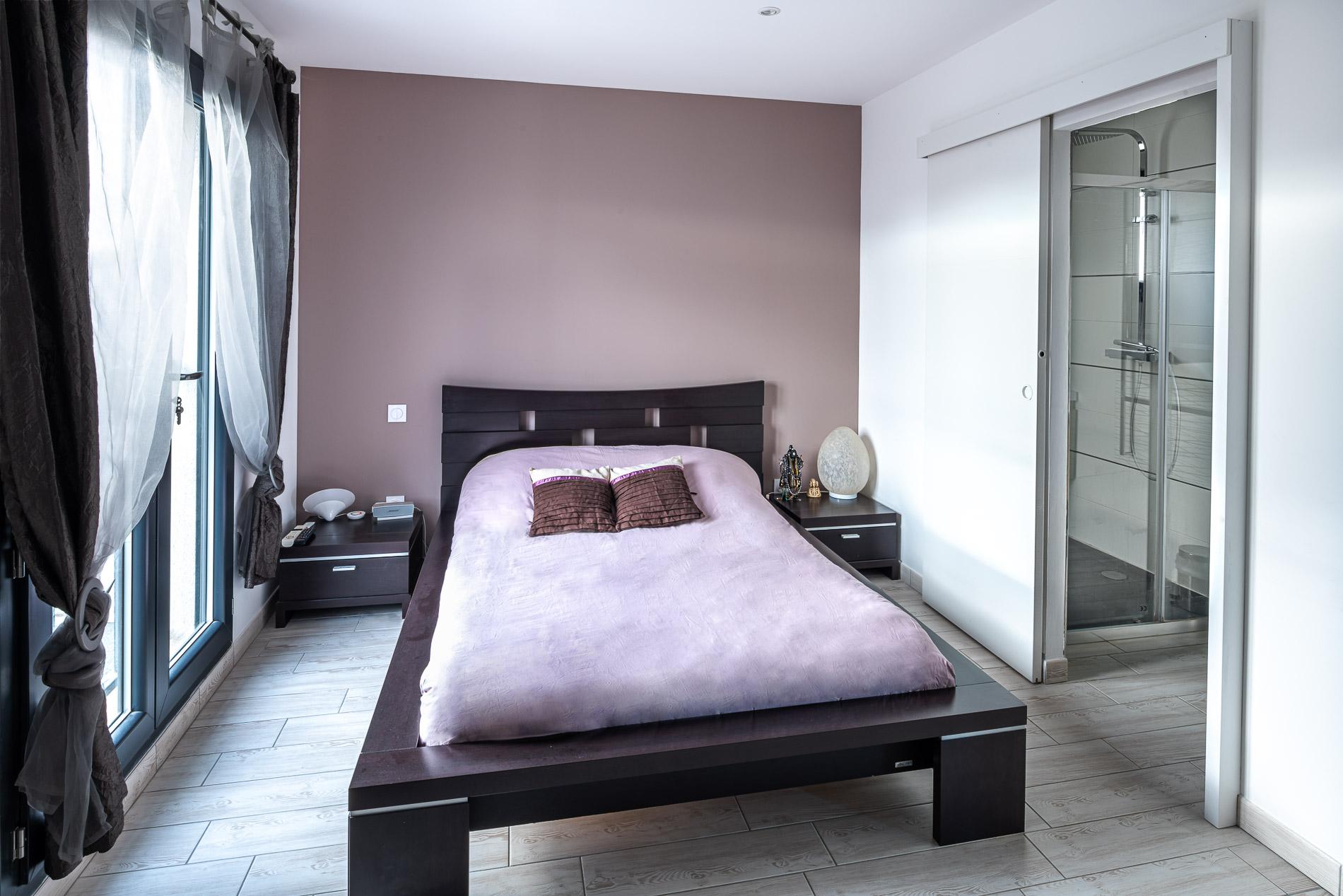 Maison neuve contemporaine à étage à Saint-Brès 34670