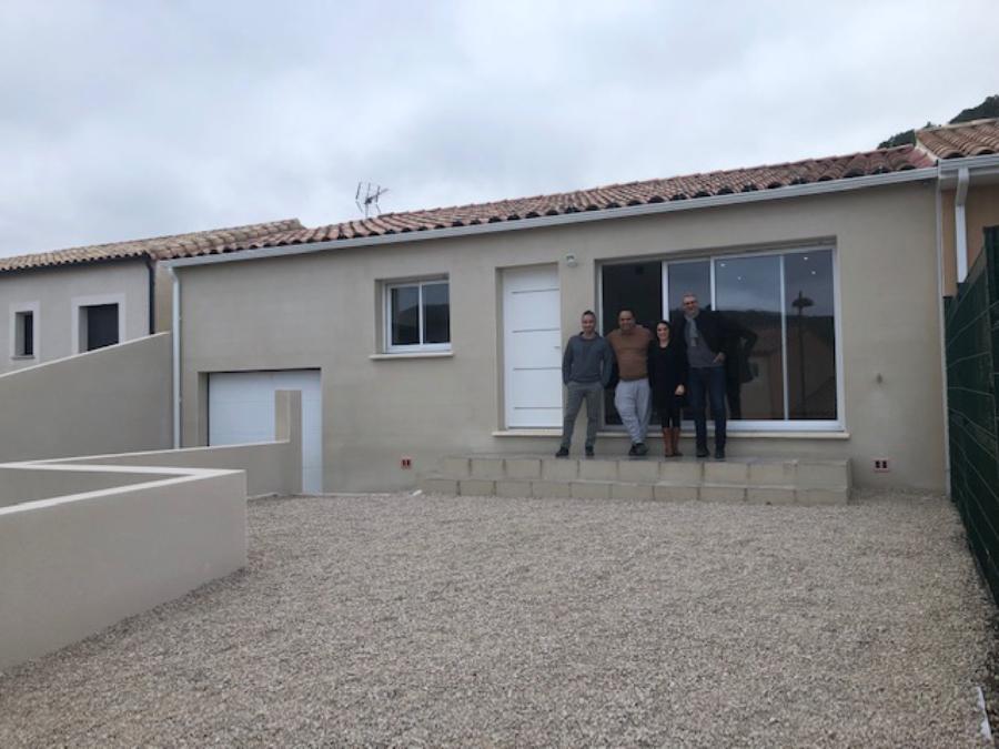 Maison plain pied dans le secteur de Clermont L'Hérault