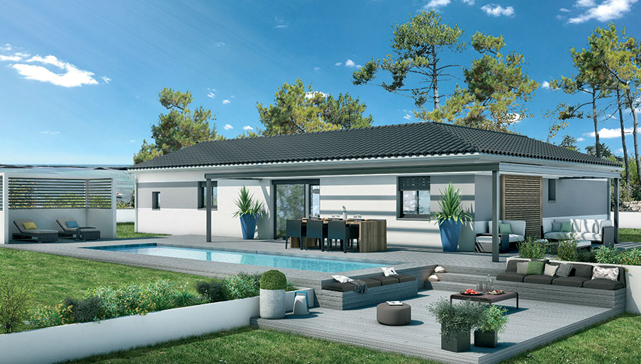 Belle villa neuve de 75 m² à Puilacher 34230