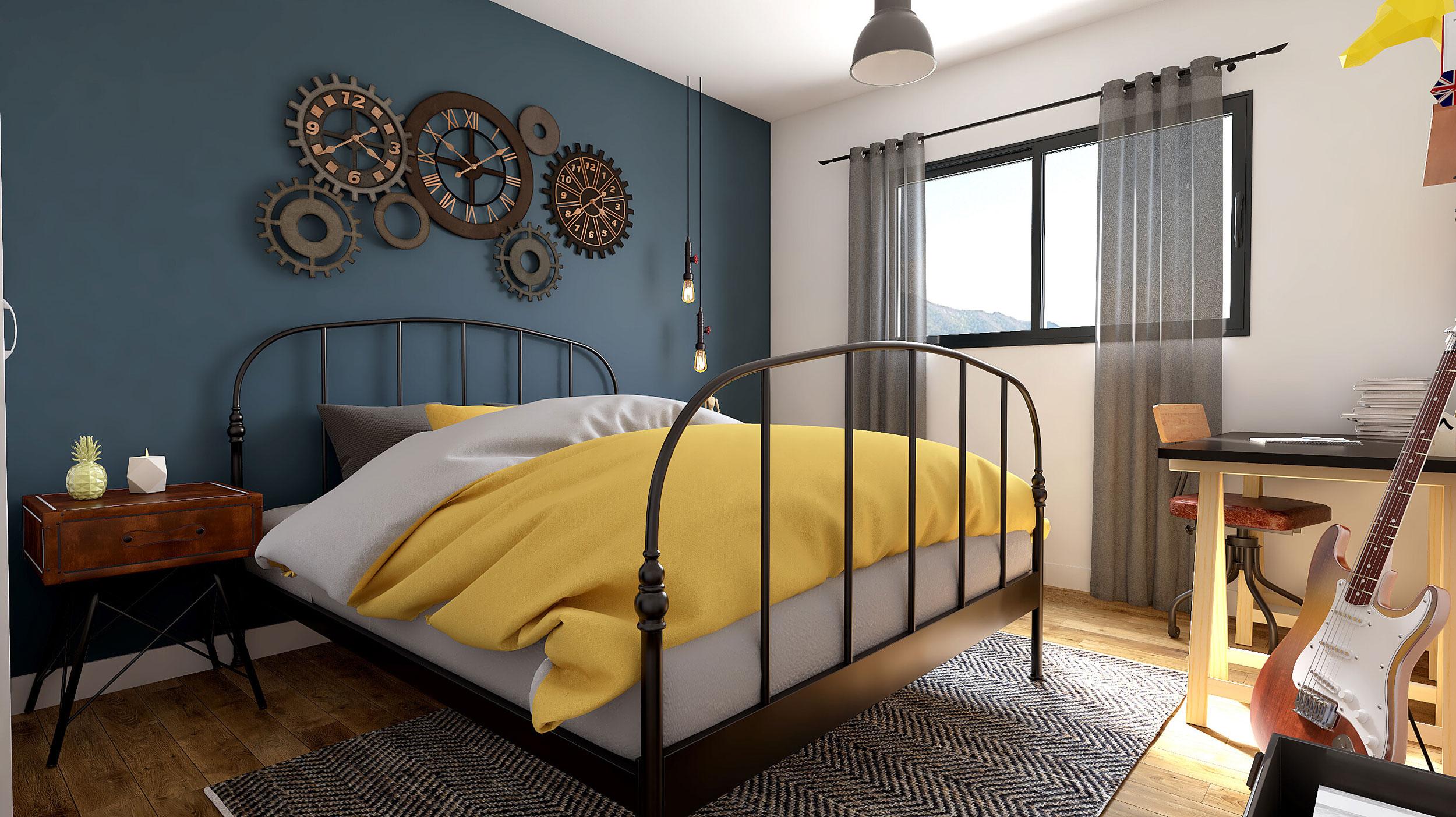 Maison Contemporaine Etage Prestige Avec Plans Maisons Bati France Constructeur Maison Individuelle Languedoc Roussillon