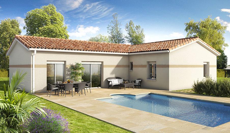 maison modèle melèze