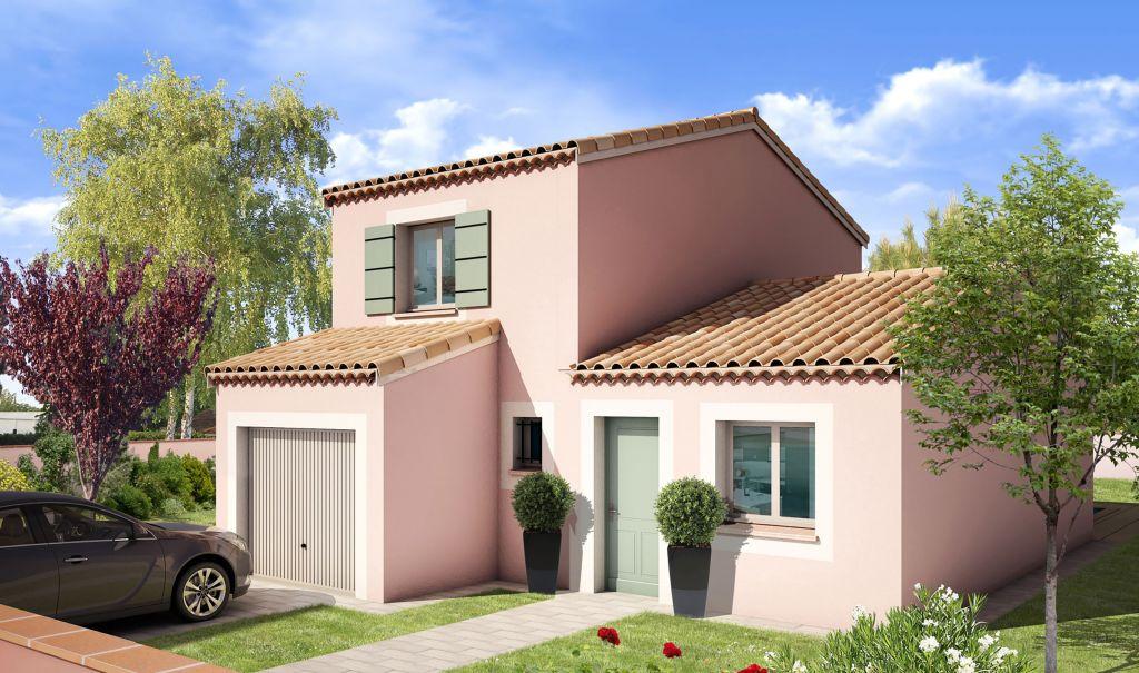 Modèle de Maison Olivier : une villa moderne à deux étages