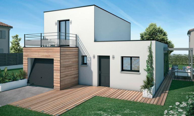 FLORENSAC/ PLAIN-PIED DE 90 m2/ TERRAIN DE 377 m2