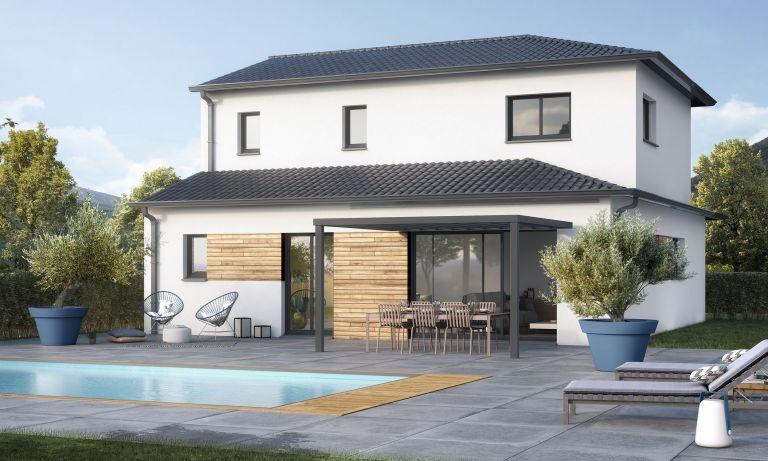 maison contemporaine neuve+ rognes