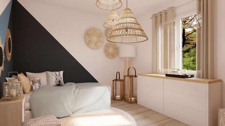 Modèle de maison Boho - decoration chambre enfant - MBF