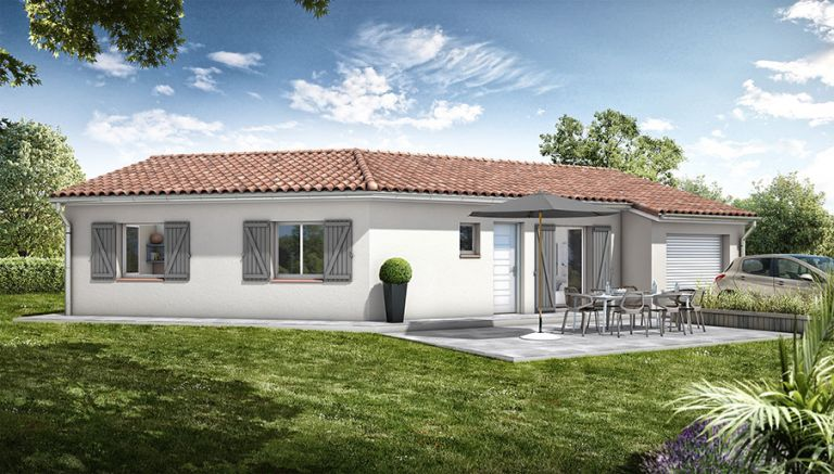 Villa moderne  T4 +Garage  + Jardin à Laurens 34480