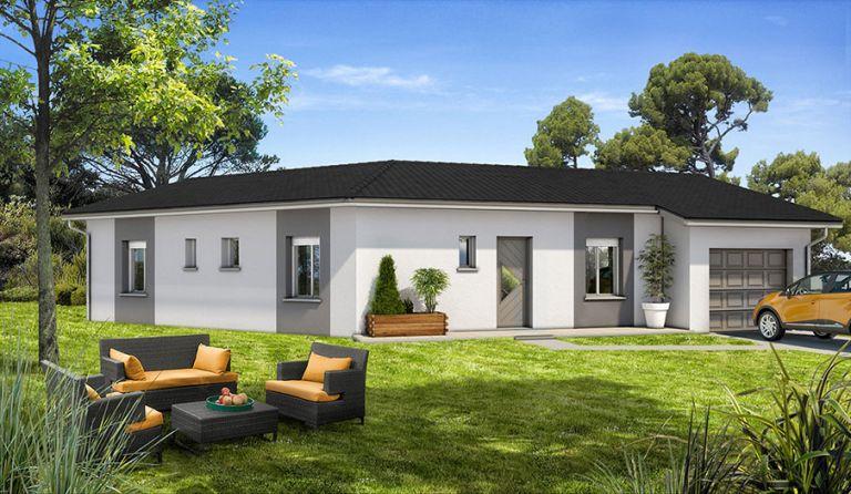 Montesquieu des Albères au calme superbe villa neuve sur terrain 4 faces de 700m²