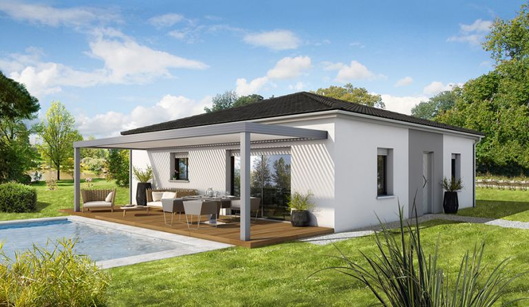 Villa neuve avec jardin à Servian 34290