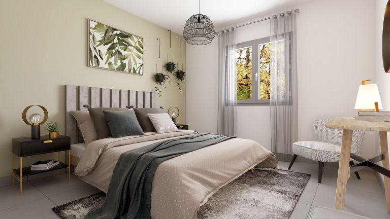 Wonder - Décoration Chambre parentale Maisons Bati-France