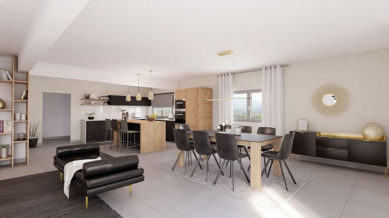 Wonder - Décoration salon salle à manger Maisons Bati-France