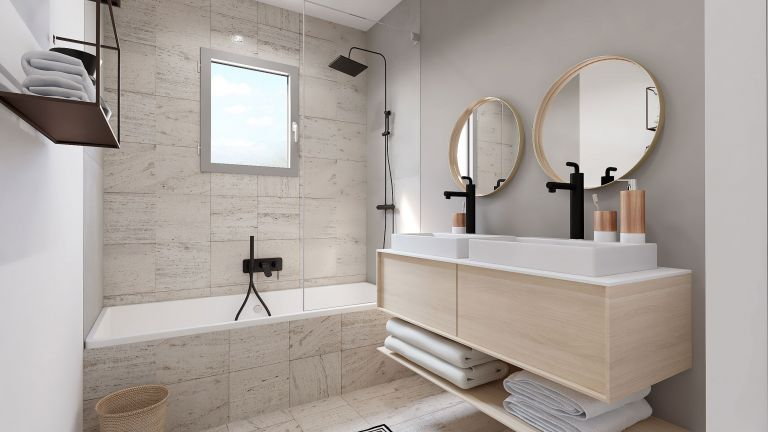 Wonder - Décoration salle de bain Maisons Bati-France