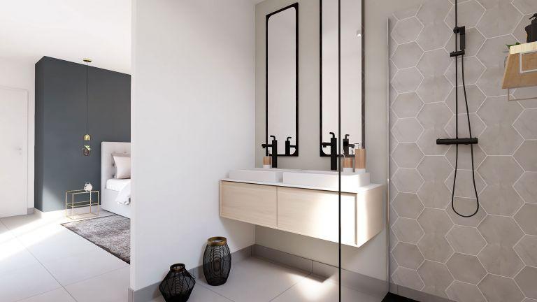 Wonder - Décoration salle de bain privative Maisons Bati-France